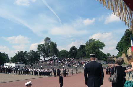 Flamme cérémonies du 18 juin 2008