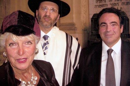 La Flamme Eternelle à la Grande Synagogue de la Victoire